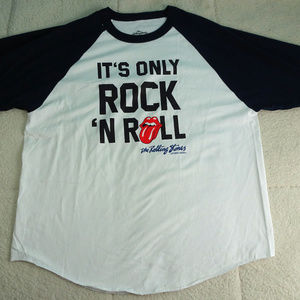 "Rolling Stones ""It's Only Rock 'N Roll"" T-shirt 2X"